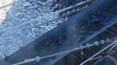 Process of coal preparation 8 Stock Footage