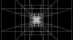 3D Matrix Flythrough Loop HD Stock Footage