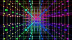 3D Matrix Flythrough Loop HD - stock footage