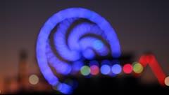 HD Ferris Wheel Stock Footage