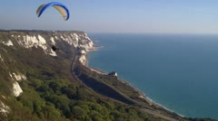 Hang Glider Stock Footage
