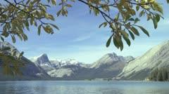 Upper Kananaskis Lake - stock footage