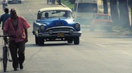 Stock Video Footage of Cuba Oldtimers & Streetlife 01