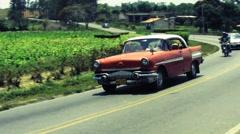 Cuba Oldtimers 02 Stock Footage