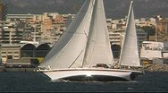 Sailing yacht 31 Stock Footage