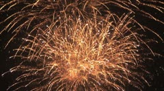 Explosion - Fireworks 7 Stock Footage