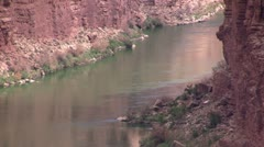 Colorado River in Marble Canyon, Arizona - stock footage