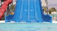 Water slide Stock Footage