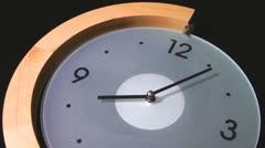 Wall clock - stock footage
