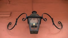 10s gas lamp new orleans Stock Footage