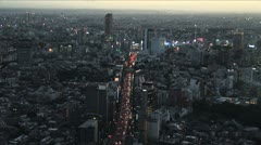 City Aerial View - Zoom In - stock footage