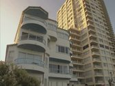 Stock Video Footage of Close up of Gold Coast tower blocks