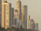 Stock Video Footage of Several Gold Coast towers