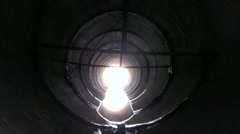 Light at the End of the Tunnel Stock Footage