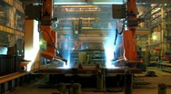 Stock Video Footage of Welding robot  TL 3