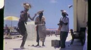 Stock Video Footage of LIMBO BAND African American Dancing 1960 (Vintage Film Home Movie) 918