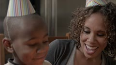 Modern Family: Birthday Wife CU 720p - stock footage