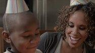 Modern Family: Birthday Wife CU 1080p Stock Footage
