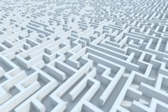 Endless Maze - stock footage