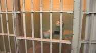 Alcatraz Prison Cell2 Stock Footage