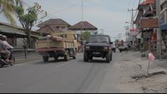 Bali Traffic Indonesia Stock Footage