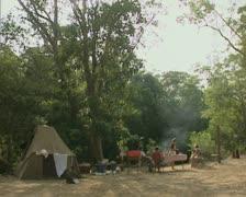 Campsite Stock Footage