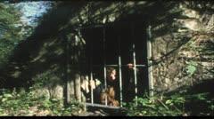 Hansel and Gretl (Vintage 8 mm amateur film) Stock Footage