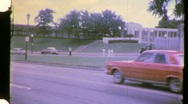 Stock Video Footage of JFK Kennedy Assassination Site Dealy Plaza, 1965 (Vintage Film Home Movie) 949