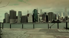 NYC Financial District Stock Footage