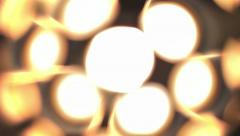Glowing balls Stock Footage