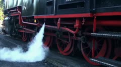 Old Steam Locomotive 20111016 141249 Stock Footage