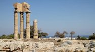 Stock Video Footage of Greece - Acropolis of Rhodes