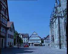 Schwabisch Gmund. street Stock Footage