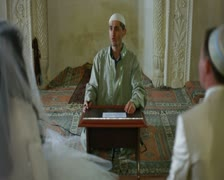Wedding of Crimean Tatars in Mosque - stock footage