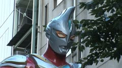 Ultraseven - TV series that aired on Japanese TV Stock Footage