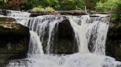 Kaihi Falls (Indiana) Loop Arkistovideo