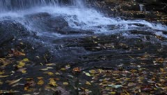 flowing  waterfall - stock footage