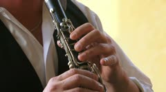 Musician playing Stock Footage