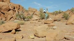 Balancing rock Stock Footage