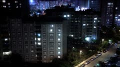 Timelapse Citylife. Full HD, 1080p, 1920x1080. - stock footage