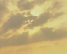 Gold coloured sky Stock Footage