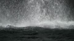 Waterfall close - seamless looping Stock Footage