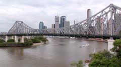Story Bridge 2 Cat Stock Footage