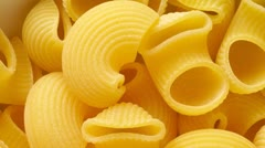 Pasta background : pipe Stock Footage
