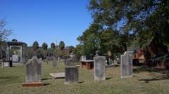 Bonaventure Cemetery in Savannah Ga Stock Footage