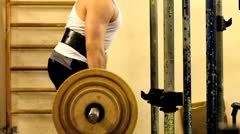 Powerlifting Stock Footage