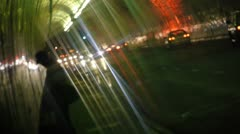 2nd Street Tunnel and The Homeless Stock Footage