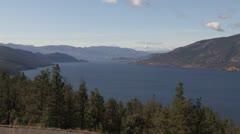 Canada: Lake Okanogan Stock Footage