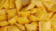 Stock Video Footage of pasta background : ravioli