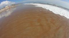 Fisheye Beach 2336 Stock Footage